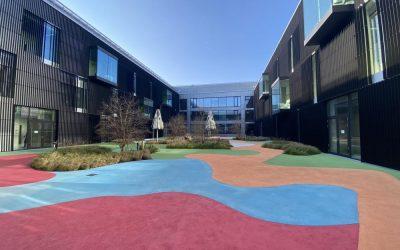 Neubau eines Laborgebäudes der TU München in Garching